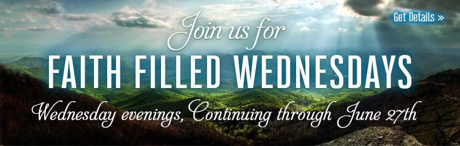 Faith Filled Wednesdays